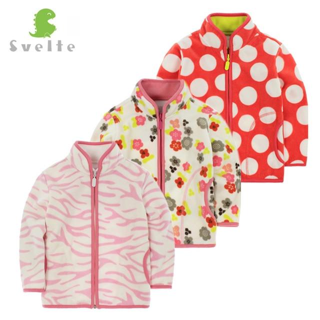 SVELTE Spring Fall Winter for Children Kids Girls Cute Soft Fleece Jacket Coat Outerwear Cardigan Clothes Sweatshirt