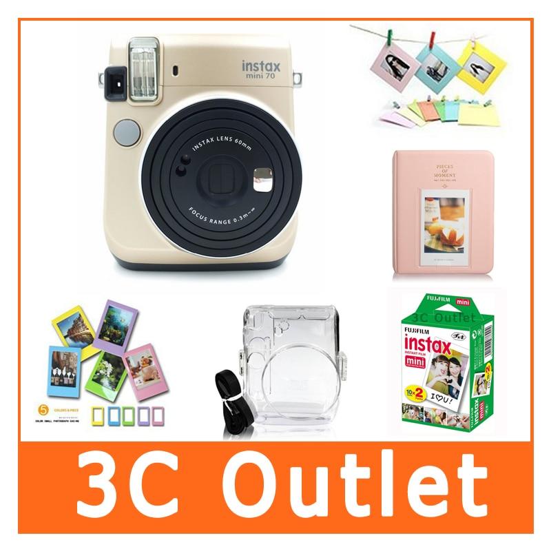 Fujifilm Instax Mini70 Camera&Accessories, Fuji Instant Mini Film+ ...