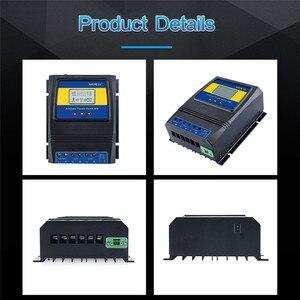 Image 3 - Otomatik çift güç aktarma anahtarı 11000W Max güç güneş şarj regülatörü güneş rüzgar sistemi için AC 110V 220V açık/kapalı izgara