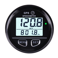 52mm Inner Diameter Waterproof Digital GPS Speedometer Backlight for ATV UTV MARINE Boats Motorcycle Automobile Motor Vehicle