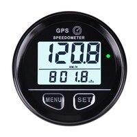 52mm Inner Diameter Waterproof Digital GPS Speedometer Backlight for ATV UTV MARINE Boats Motorcycle Automobile Motor Vehicle
