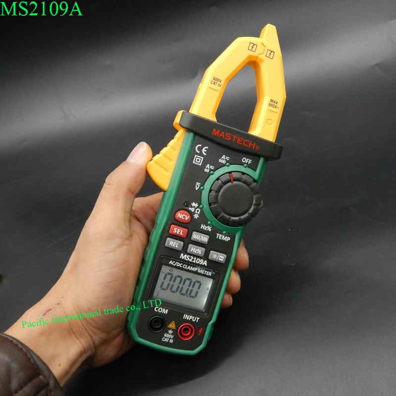 Can A Clamp Meter Measure Amps : Digital clamp meter mastech ms a auto range ac dc