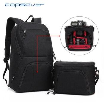 Sac De Transport Pour Ordinateur Portable   Capsaver Multi-fonctionnel DSLR Appareil Photo Sac à Dos D'épaule 15.6