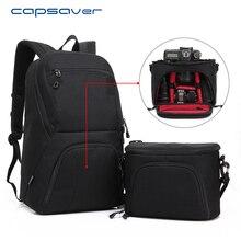 """Capsaver Multi-funcional Câmera DSLR Bolsa De Ombro Mochila 15.6 """"Laptop Case Carry Bag para Fotografia Ao Ar Livre de Grande Capacidade"""