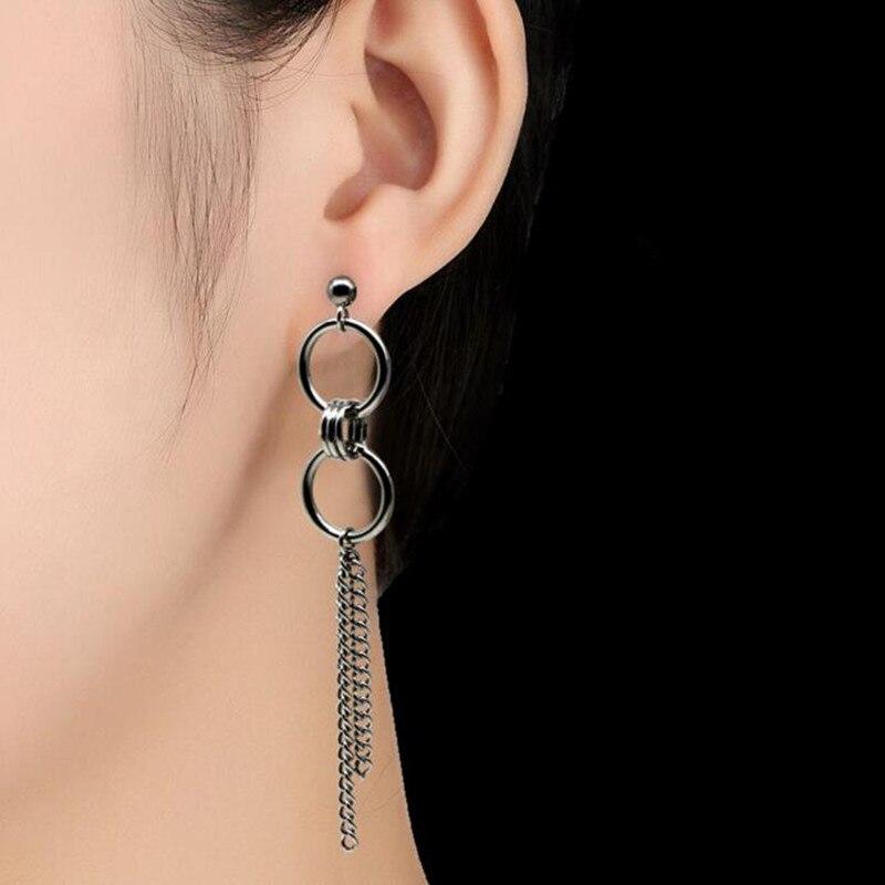 2pcs/lot KPOP BTS Bangtan Boys Album V DNA Stud Earrings Korean Fashion Jewelry Accessories For Mens And Womens Serial Earring