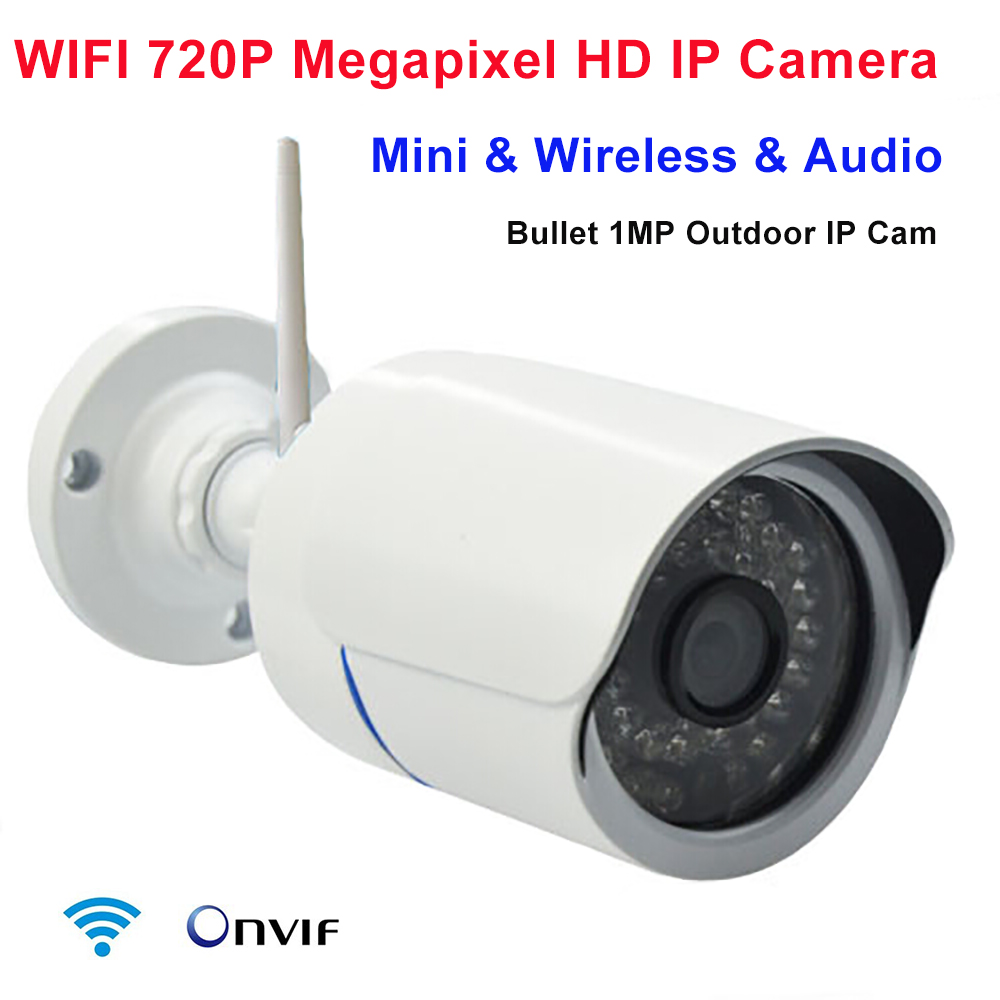 HD Mini IP Camera WIFI 720P Onvif CCTV Camera Wireless P2P Surveillance IP Camera WIFI  IPC For Home Security Monitoring System
