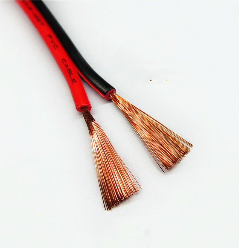 2 5 Pvc Cable : Red black copper led strip monitor power cable