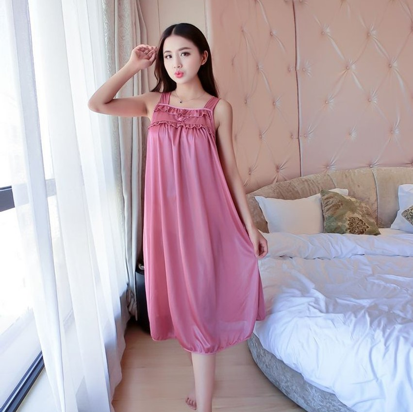 Plus Size Satin Nightgown Promotion-Shop for Promotional Plus Size ...