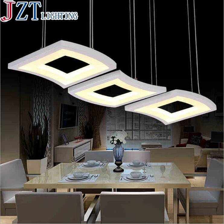 M Modernen Minimalistischen 3 Kupfer Restaurant Pendelleuchte Acryl Schlafzimmer Wohnzimmer Tisch Led Kreative Tischlampe