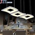 M Moderno Minimalista 3 Cobre Restaurante Pingente Lâmpada de Mesa Sala de estar Do Quarto Acrílico Led Criativo Restaurante Candeeiro de mesa