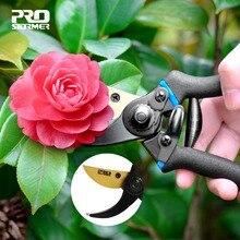 PROSTORMER Pruning Shears scissor Professional PVC Handguard 65 Manganese Steel secateurs Gardening Scissors Graft Pruners Tools