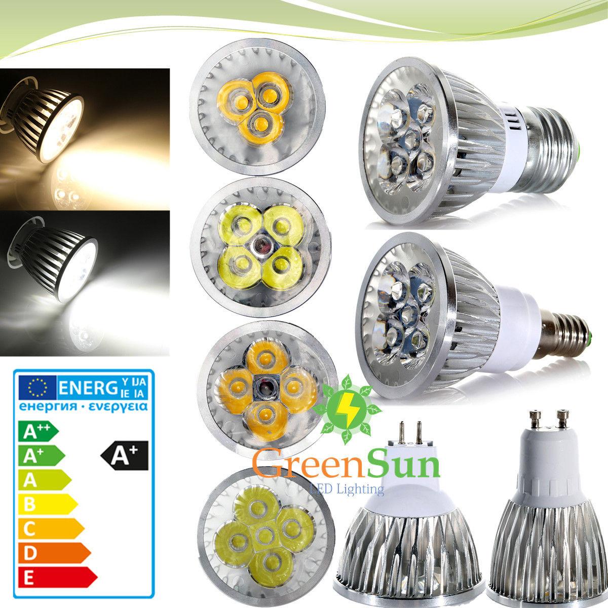 MR16 GU10 E27 E14 3W 4W 5W LED Spot Spotlight Light Lamp Bulb Warm/Cool white mr beams светильник mr beams spotlight led на батареях с сенсорами корпус белый