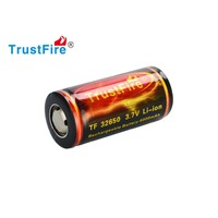 1 יחידות TrustFire 6000 mah 3.7 V 32650 ליתיום Li יון סוללה נטענת עם PCB מוגן לפנס LED