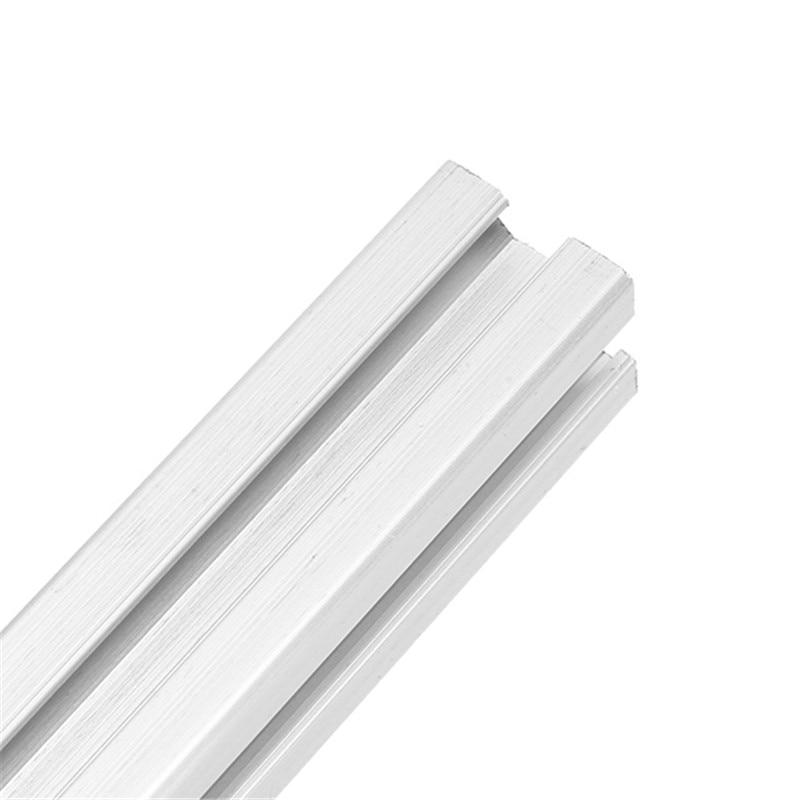 8 Piece 400mm 2020 T-Slot Aluminum Profile Extrusion Frame DIY for 3D Printer CNC