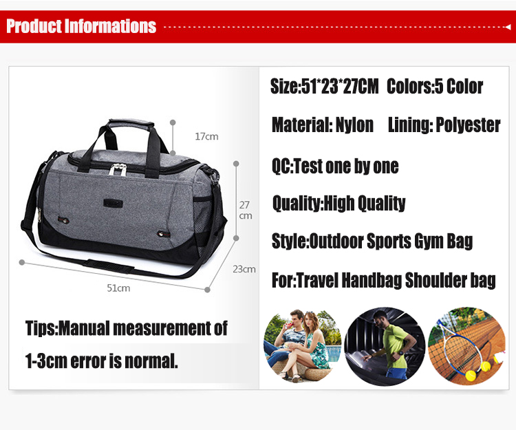 HTB1voxthdbJ8KJjy1zjq6yqapXa5 Limited Hot Sports Bag Training Gym Bag Men Woman Fitness Bags Durable Multifunction Handbag Outdoor Sporting Tote For Male