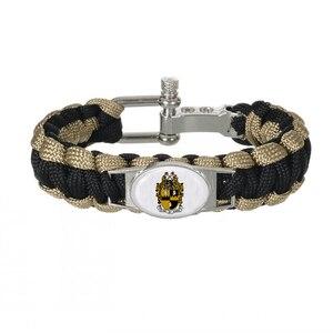 Пользовательские греческие буквы, аксессуары для братьев, подарок 550, Паракорд, браслеты Alpha phi Alpha Fraternit, регулируемый браслет для выживания