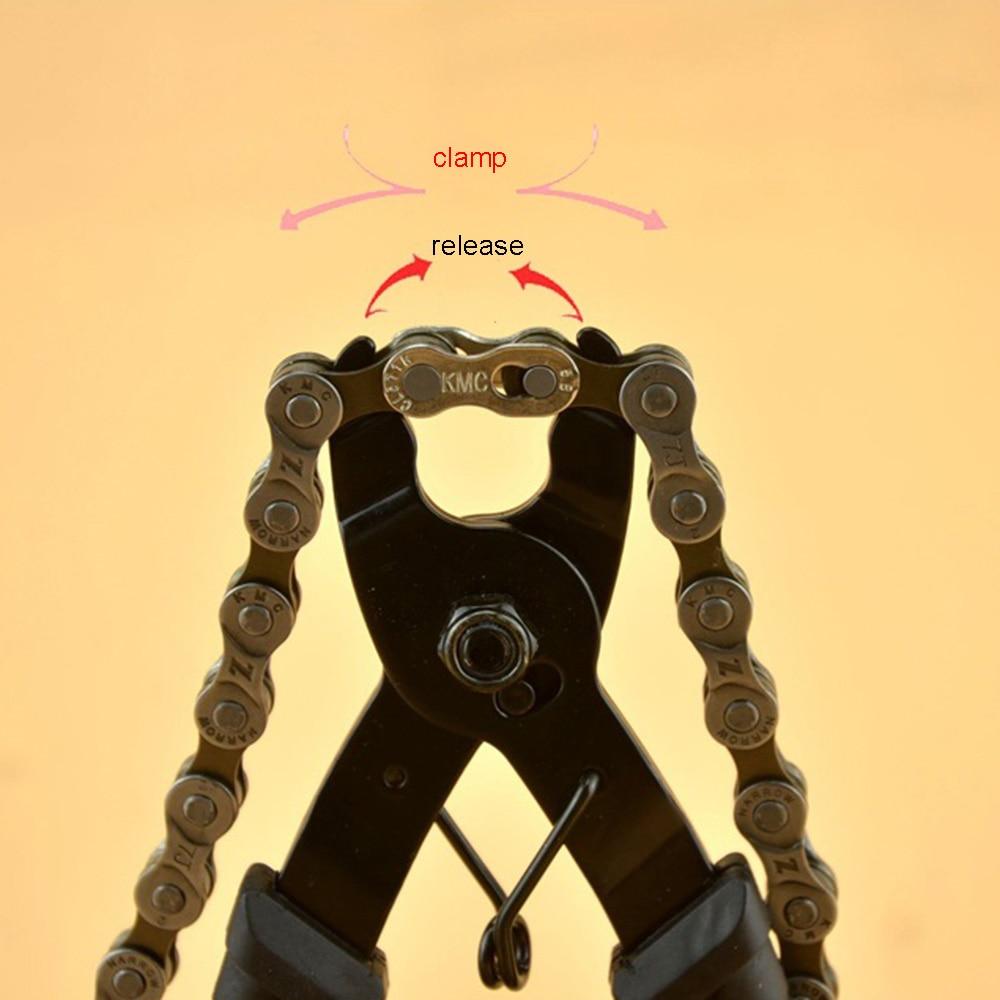 Mini Bicycle Open Close Chain Magic Buckle Repair Removal Tool Bike Master Link Plier Cycling Repair Tool