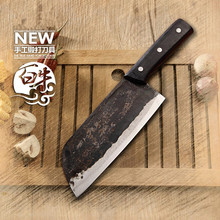 Free Shipping Handmade Forged Kitchen Professional Cleaver Chef Slicing Knife Meat Fish Vegetable Multi-purpose Cutting Knife