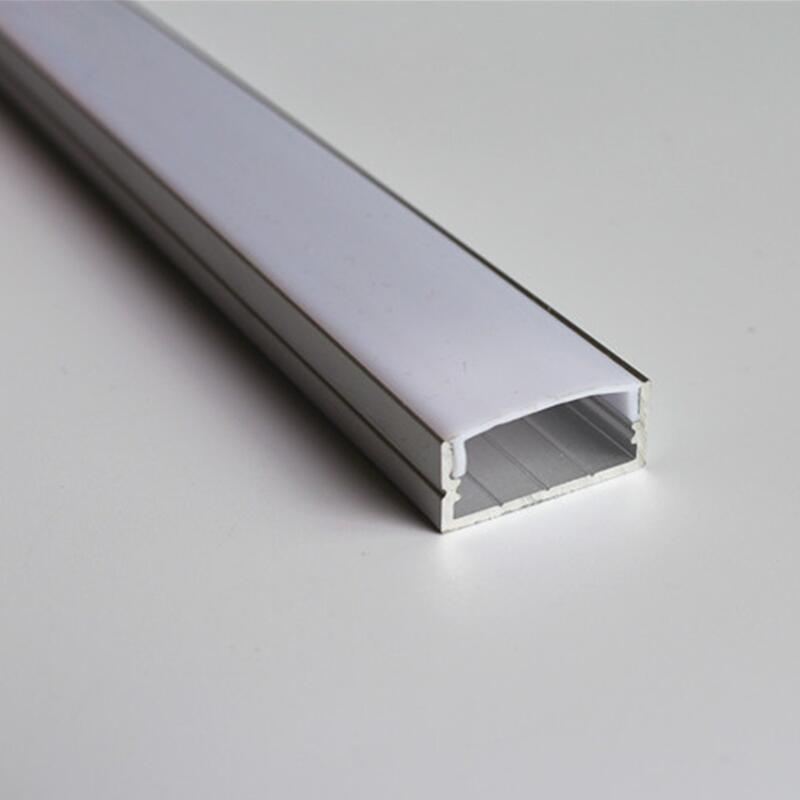 5-15 pieces TS20B aluminum extrusion profile for 20mm width led strip aluminum channel housing 5 30 pcs lot 1m aluminum profile for led strip milky transparent cover for 12mm pcb with fittings embedded led bar light