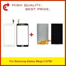"""عالية الجودة 6.0 """"لسامسونج غالاكسي ميجا 2 SM G750 G750 lcd شاشة العرض شحن مجاني + تتبع قانون"""