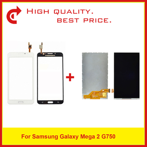 """Image 1 - Di alta Qualità 6.0 """"Per La Galassia Mega 2 SM G750 G750 Lcd Screen Display Spedizione Gratuita + Codice di Monitoraggio"""