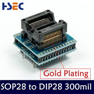 Image 5 - 10 قطعة TSSOP28 + SOP28 + SOP20 + SOP16 + SOP8 + PLCC44 + PLCC32 + PLCC28 + 20 محول TL866CS/A/TL866II Plus/RT809H مبرمج