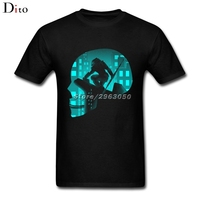 City Predator Alien Hunter Tees Shirt Men Male Gorgeous Short Sleeve Crewneck Cotton 3XL Group T