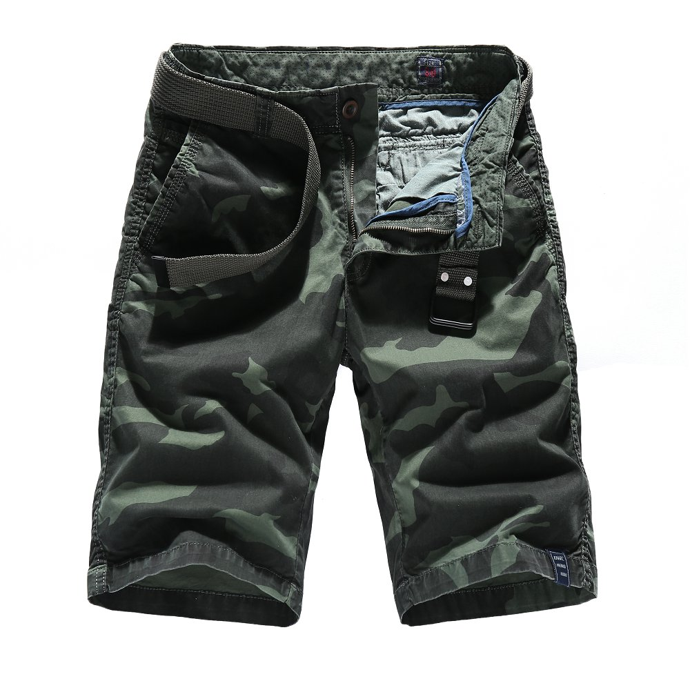 Camouflage Camo Cargo Shorts Men 2018 New Mens Casual Shorts Male Loose Work Shorts Man  ...