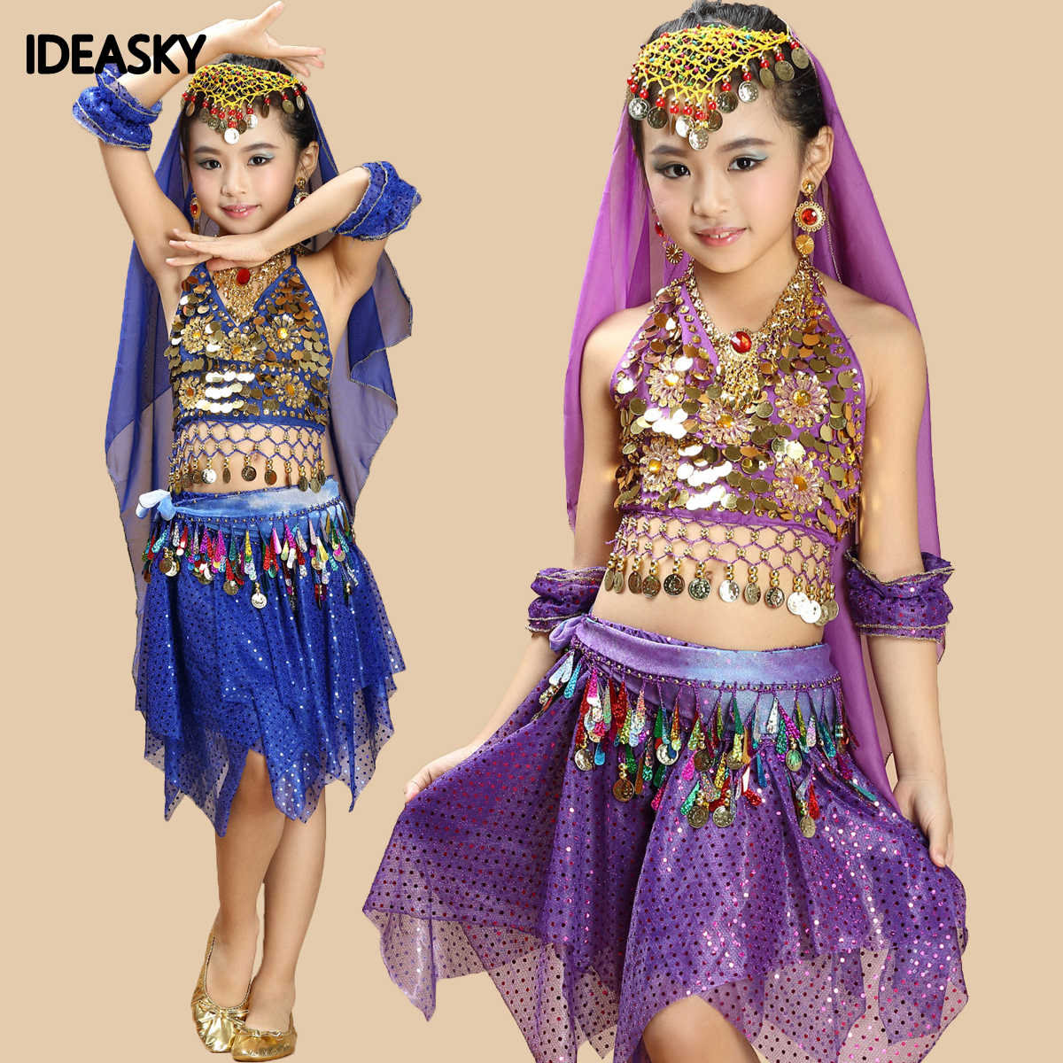 girl child kid chilren bellydance dress dresses pants belly dance top and pant costume set kids girls indian bollywood clothes