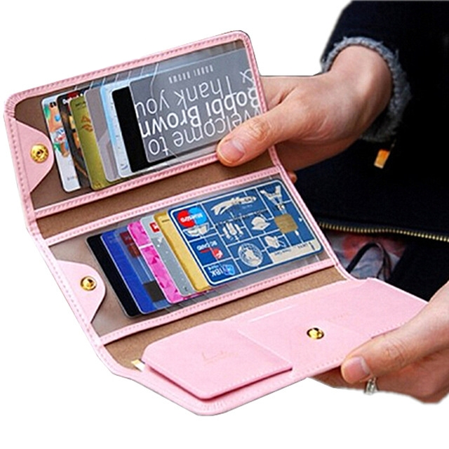 2016 New Fashion Women Men Wallet Leather Travel Cover For Passports Packages Documents Holder ID credit Card Bag organizer