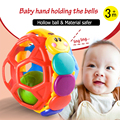 0-12 Months Colorful Baby Hand Grasping Toys Funny Bell Ball Mobiles Rattles Baby Intelligence & Educational Toy