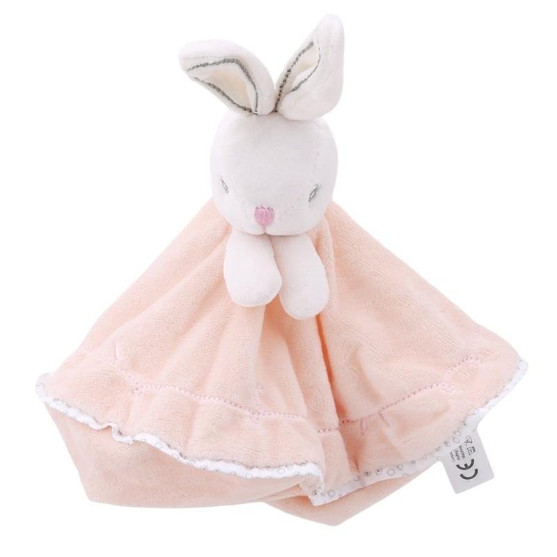 Милая плюшевая кукла-кролик, Детская Соска-кролик, успокаивающее полотенце, мягкое защитное одеяло для младенцев, для сна, для друга