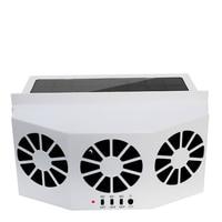 Automotive Solar Rechargeable Exhaust Fan Car Fast Cooling Ventilating Fan Window Fan Solar Fan Ventilation Green Energy Saving