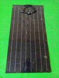 Wygląd piękniejszego  zapewnienia jakości  innowacji 100w elastycznego panelu słonecznego