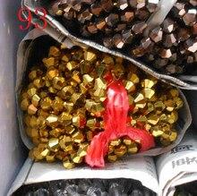 Fltmrh cor dourada 110 pçs 4mm bicone áustria contas de cristal charme grânulos de vidro solto espaçador grânulo para diy jóias fazendo
