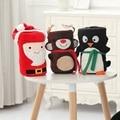 Mantas De Franela bebé Año Nuevo Navidad Niños ropa de Cama de Dibujos Animados Ciervos de Impresión Toallas de Baño Bebés Swaddle Envuelve EX030