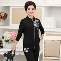 New Arrivals XL-5XL 2 Pieces Set Women Fall Sets Plus Size Printing Leisure Fashion Loose Women Pants And Tops