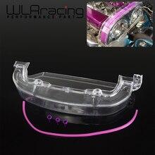 WLR чистый кулачковый шкив Крышка для Mitsubishi Lancer Одиночная кулачковая крышка 4G63 прозрачный шкив крышка/кулачковый чехол/ремень ГРМ WLR-CTB01-MB