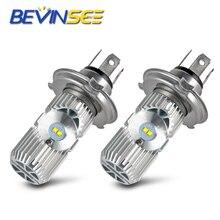цена на LED Headlight Bulb Head Fog Lamp Lights Bulbs L12-H4/9003 Hi/Lo Beamn For Ski-Doo Freeride 800R MXZ670 Skandic 550F 600 900 V800