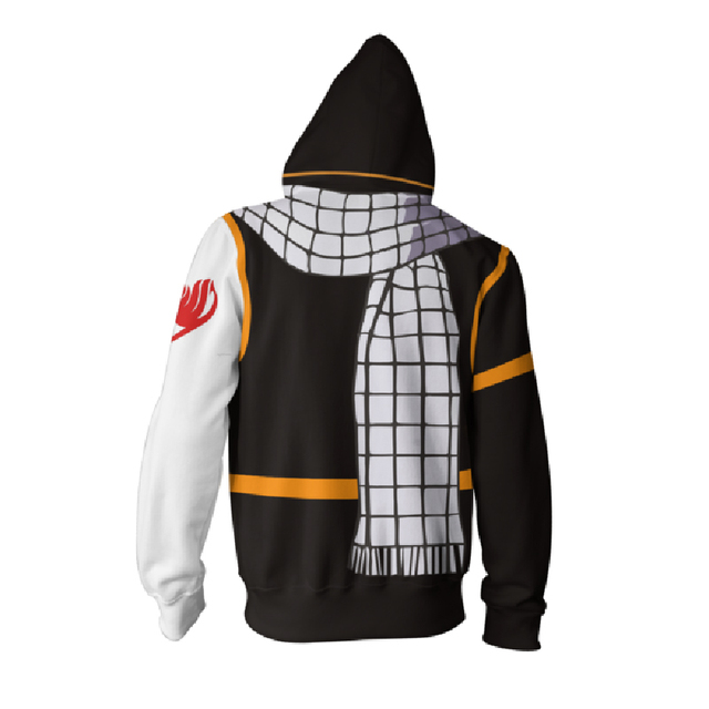 Newest Fairy Tail Gray Fullbuster Print Hoodie
