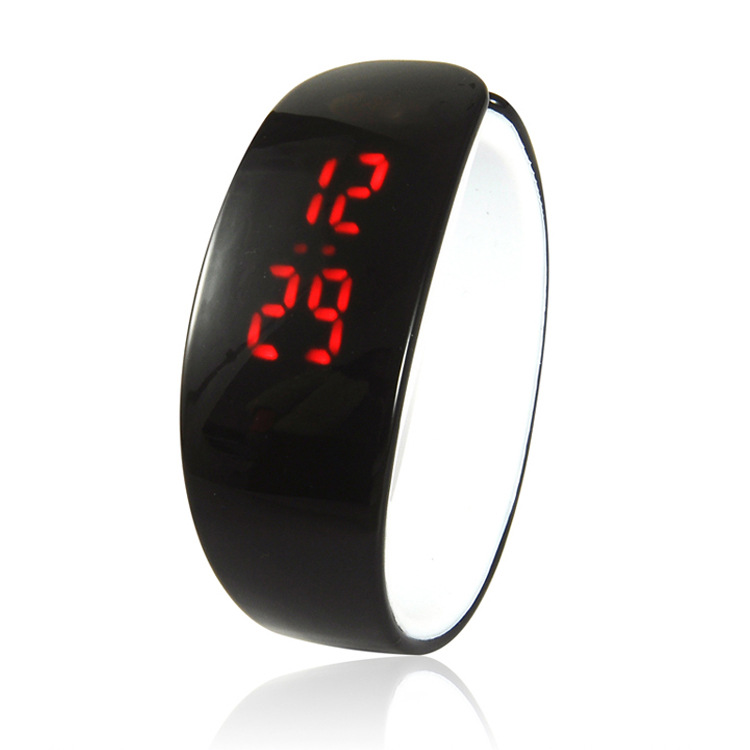 Children watch LED Digital Sports Relojes Mujer Boys &