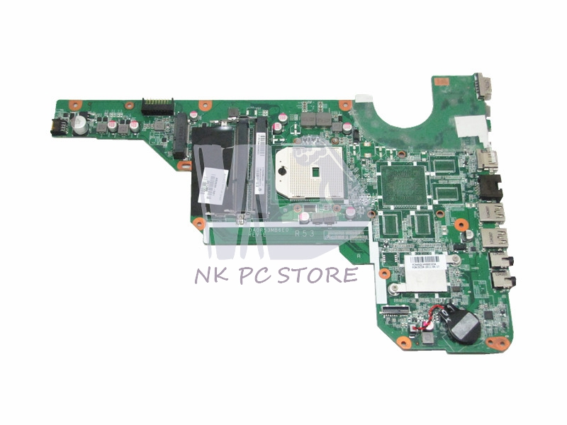 683029-501 683029-001 Main Board For Hp Pavilion G4 G6 G7 G4-2000 G6-2000 Laptop Motherboard Socket FS1 DDR3 815248 501 main board for hp 15 ac 15 ac505tu sr29h laptop motherboard abq52 la c811p uma celeron n3050 cpu 1 6 ghz ddr3