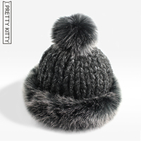 2016 Good Quality Women S Hat Winter Real Hat With Modeled Rabbit Fur Russia Hot Fashion
