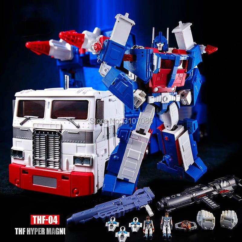 G1 Ultra Magnus THF 04 transformación MP22 MP 22 THF04 MP líder KO figura de acción Robot colección de Juguetes-in Figuras de juguete y acción from Juguetes y pasatiempos    1