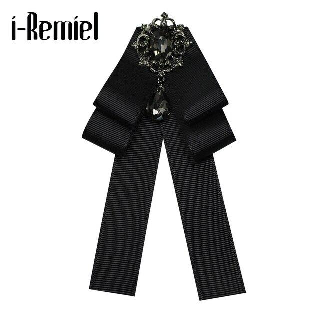 Я-Remiel модные галстуки галстук брошь воротник Винтаж и броши воротник рубашки аксессуары подарки для гостей броши для женщин