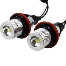 цена на 2pcs/lot E39 E53 E60 E61 E63 E64 E65 E66 E87 35W LED Marker Angel Eyes Bulb for BMW free shipping