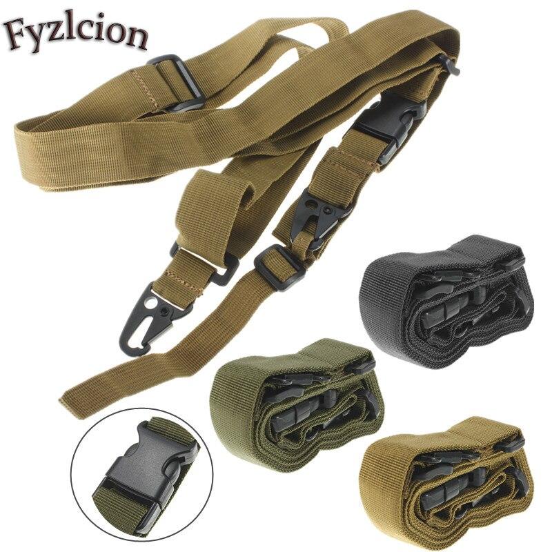 Three-point tactical mission carrier CS water gun with triangular oblique shoulder gun rope army fan supplies equipment