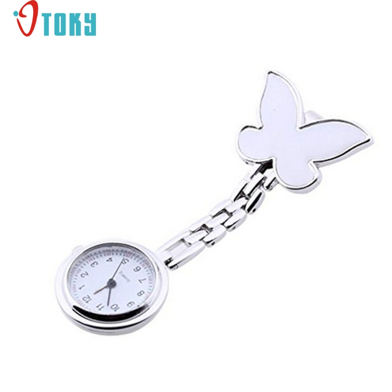 Excellent Quality OTOKY New Nurses Fob Watches Clip-on Fob Brooch Pendant Hanging Smile Face Watch Pocket Watch For Gift