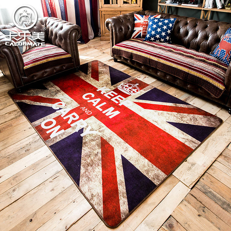 Classical British Style Union Flag Carpet Environmental