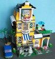 Kits de edificio modelo compatible con lego Completo Casa 3 en 1 3D modelo de construcción bloques Educativos juguetes y pasatiempos para niños